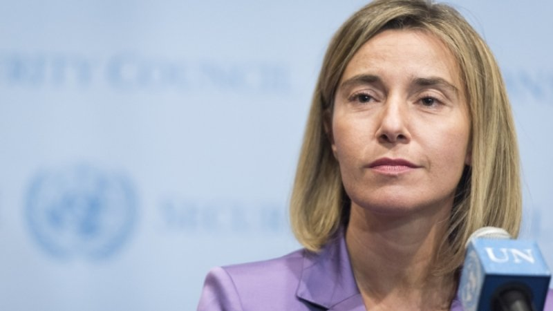 Сегодня мысломали барьер между гражданами Украинского государства игражданами европейского союза,— Могерини