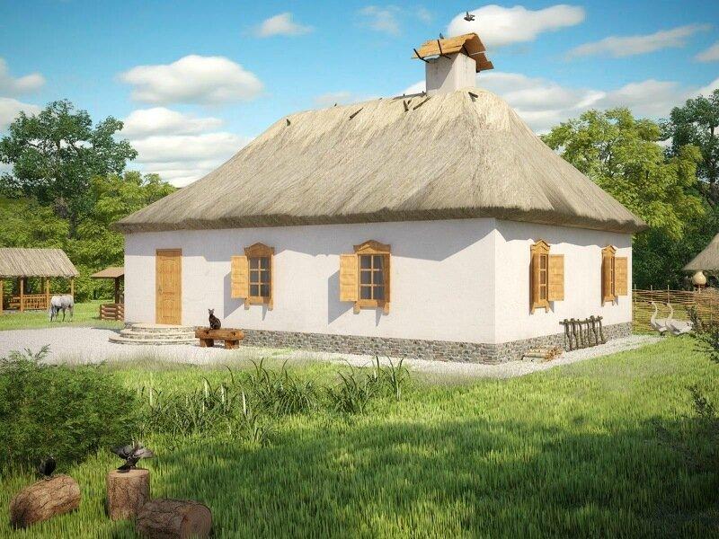 Хата (невеликий житловий будинок)