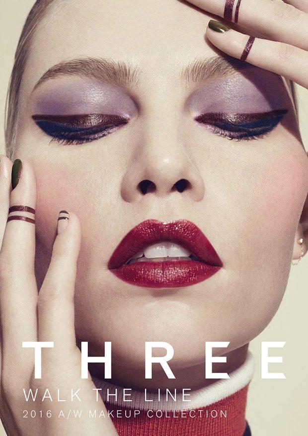 Aline Weber Stars in Three Cosmetics Walk The Line FW16 Campaign (7 pics)