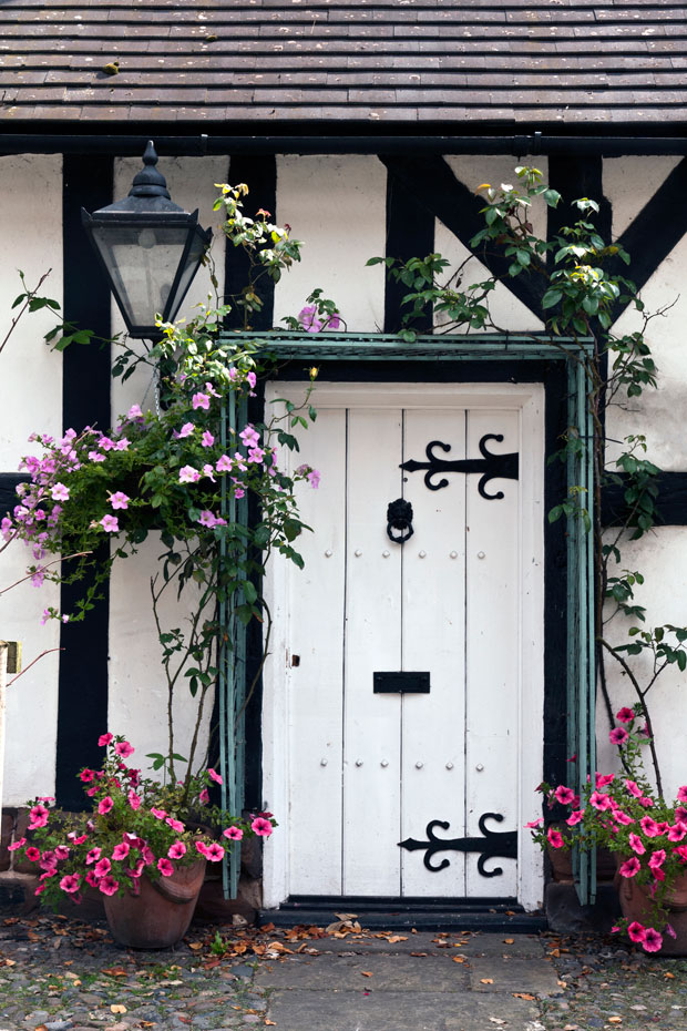 Country Cottage Restore a traditional timber iron cast hinged cottage door to recreate this classica