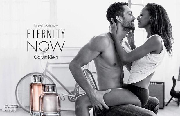 Jasmine Tookes & Tobias Sorensen for Calvin Klein Eternity Now