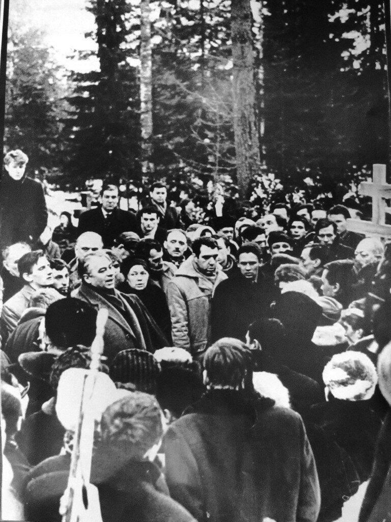 Похороны А.Ахматовой
