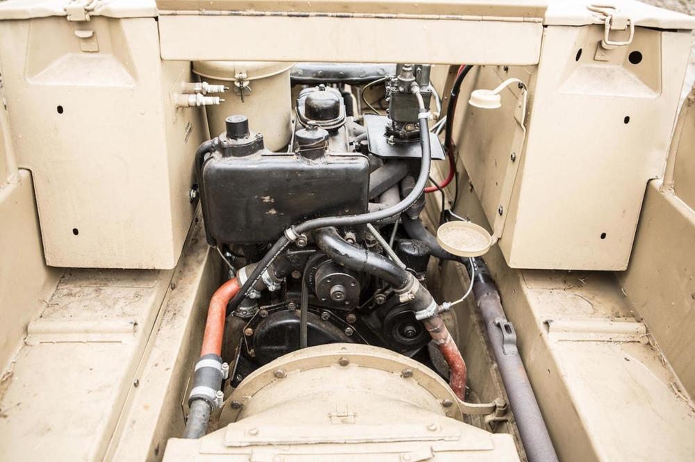 Отреставрированный мотоцикл SdKfz 2 Kettenkrad 1944 продадут с аукциона