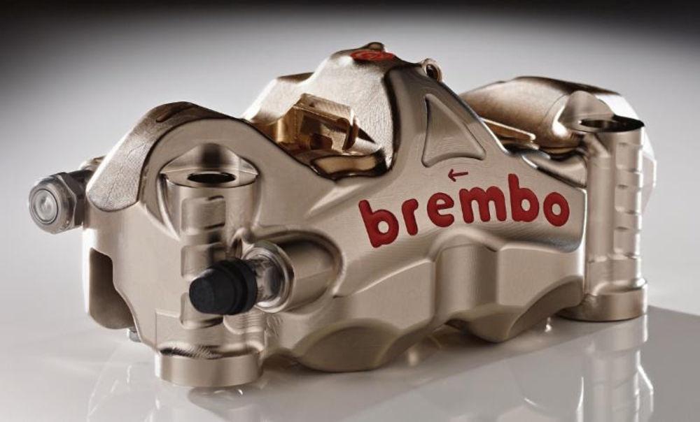 Все прототипы MotoGP 2017 комплектуются тормозными системами Brembo
