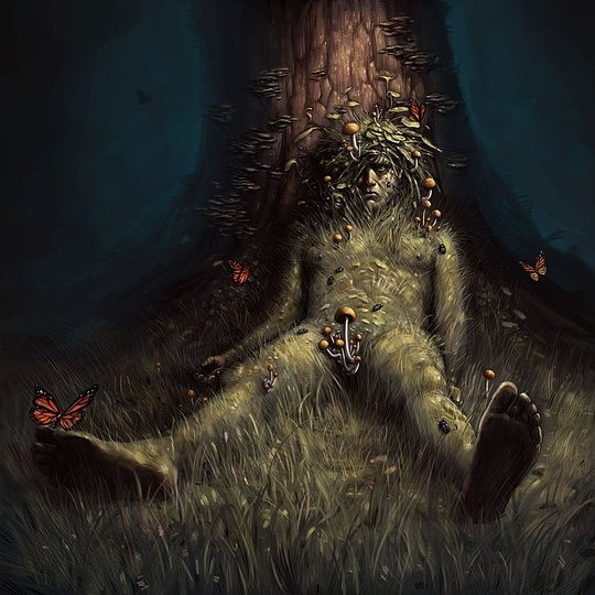 Dark Illustrations by Daniel Karlsson