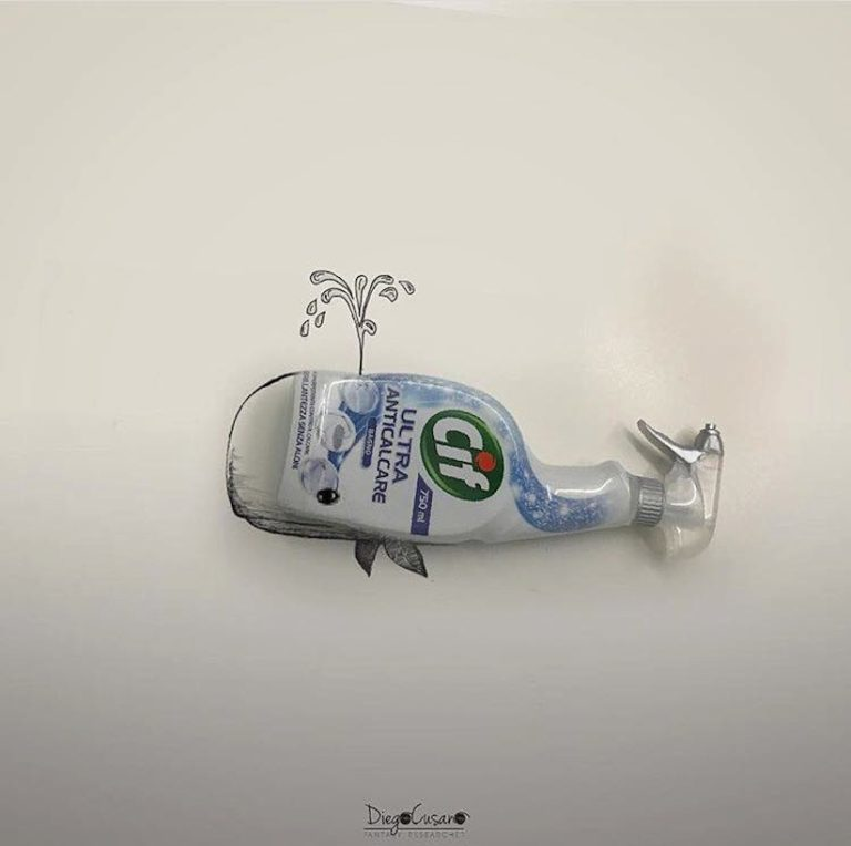 Ilustracoes com objetos aleatorios por Diego Cusano (11 pics)