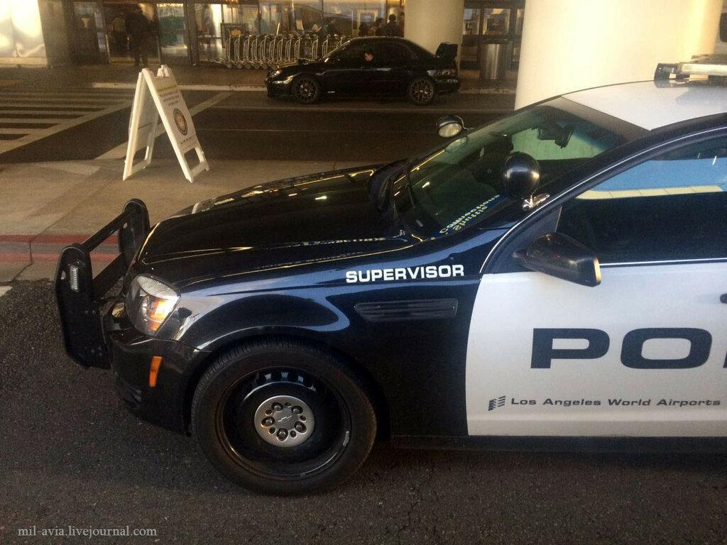LAX police supervisor