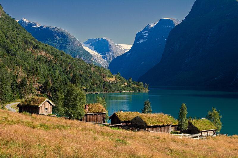 вот... приглядела домик в деревне викингов