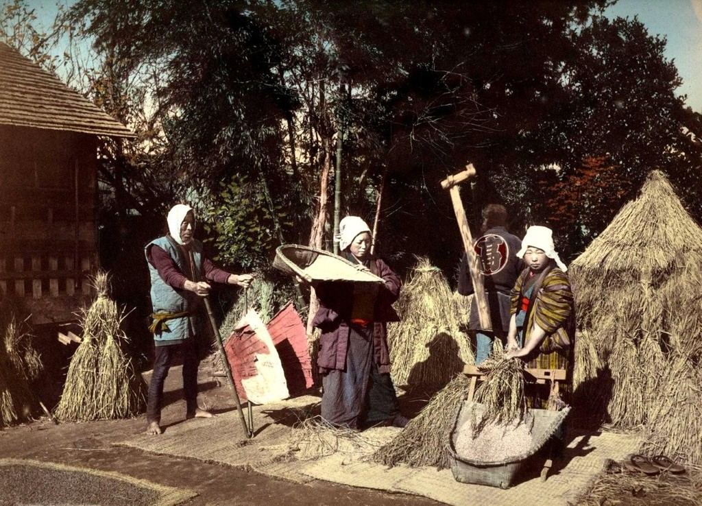 Япония начала XX-го века в цветных фотографиях
