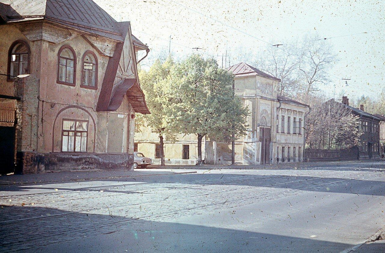 1966. Ул. Достоевского (автор Юрий Славин)