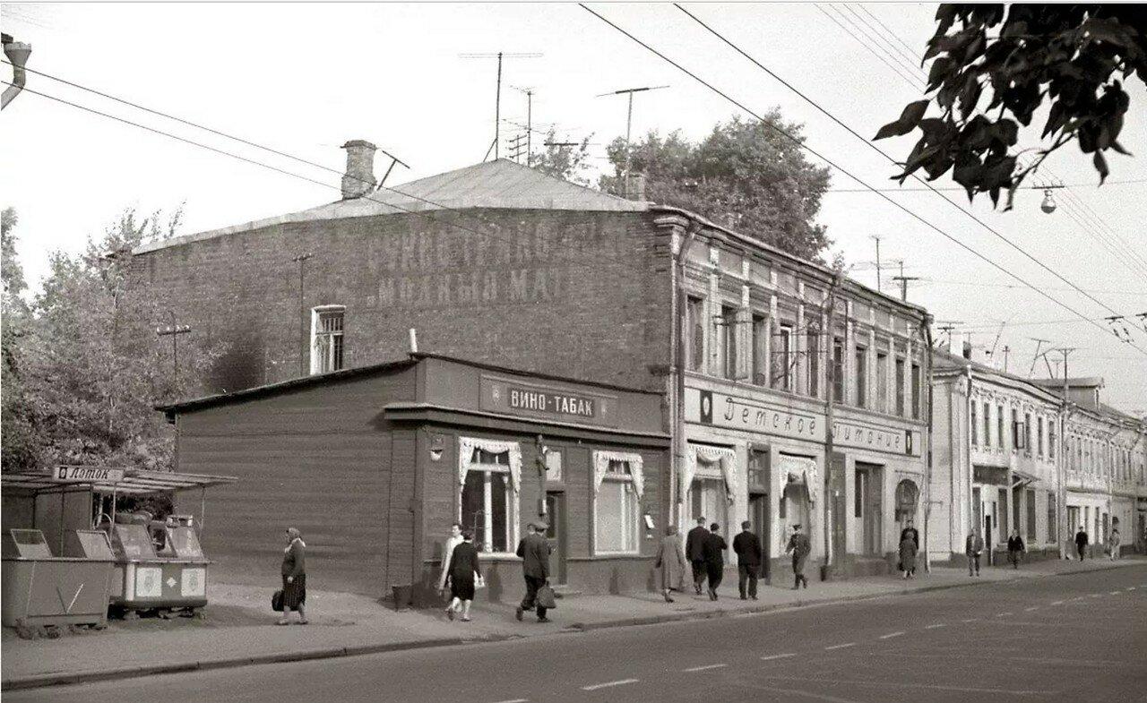1968. Ул. Октябрьская (автор В.Гуменюк)