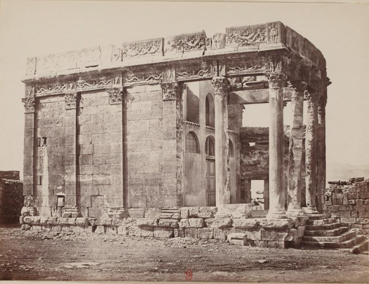 Тебесса. Храм Юпитера
