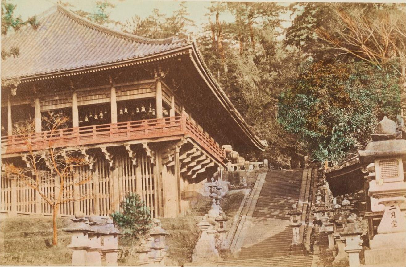 Нара. Храм Нигацу-до