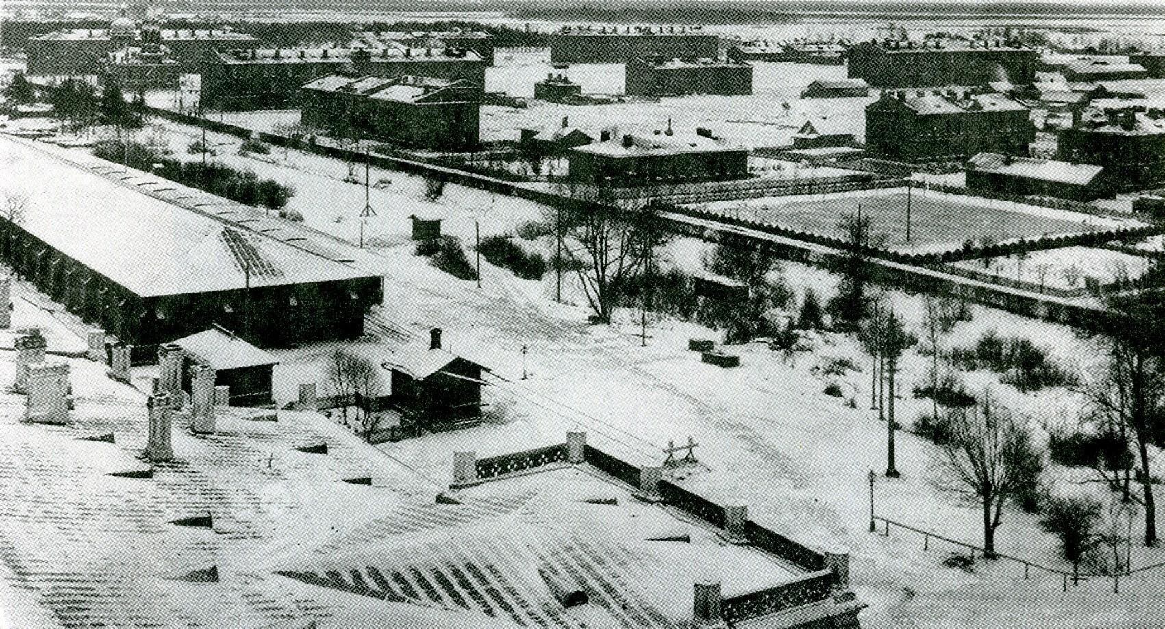 Вид на казармы 148-го Каспийского полка