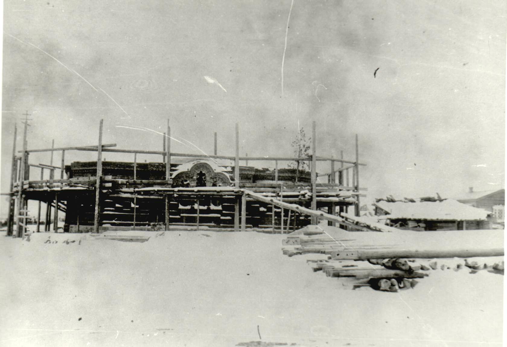 Строительство Александровской церкви