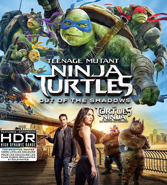 Черепашки-ниндзя 2 / Teenage Mutant Ninja Turtles: Out of the Shadows (2016/WEB-DL/WEB-DLRip)