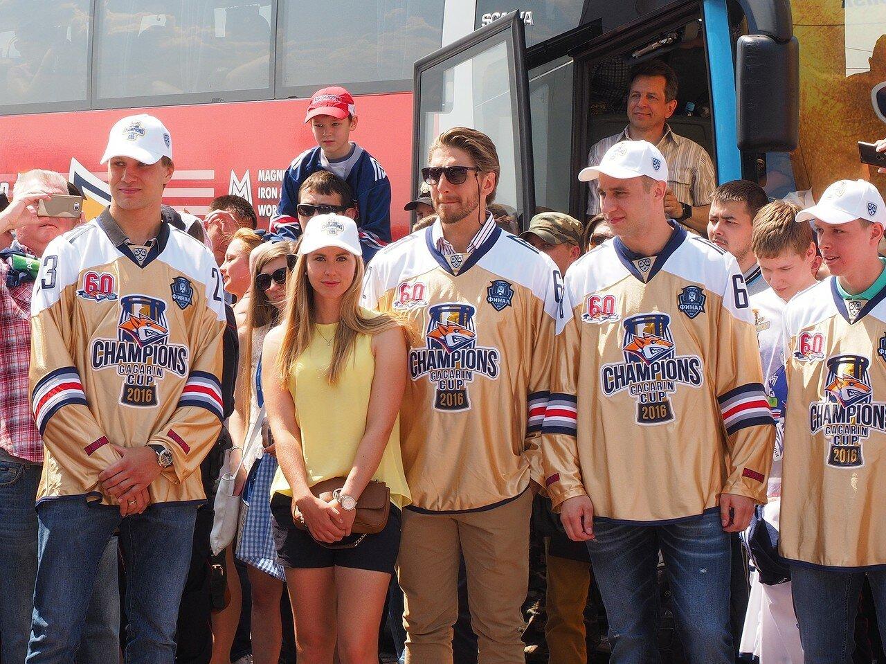 60Церемония чествования команды Металлург27.05.2016