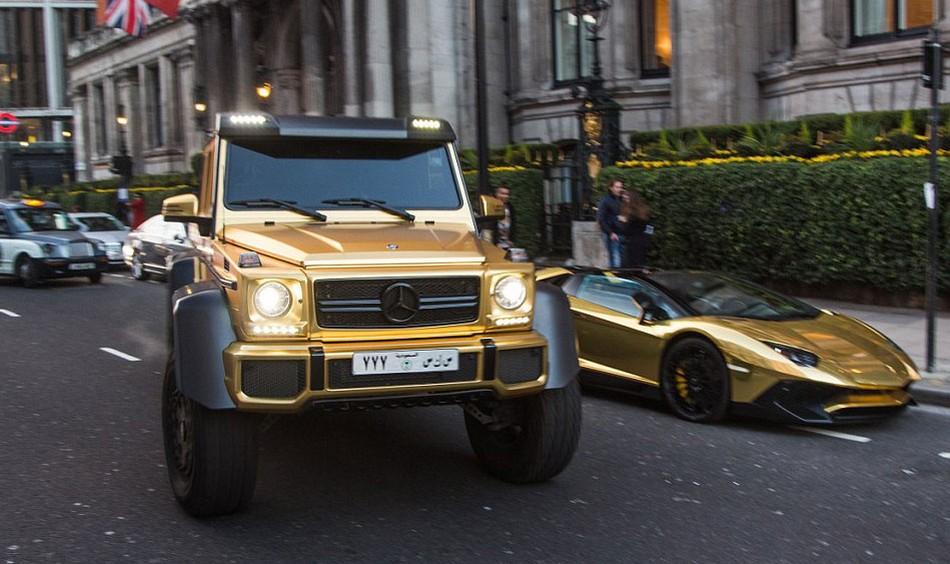 Миллиардер из Саудовской Аравии приехал в Лондон с персональным автопарком