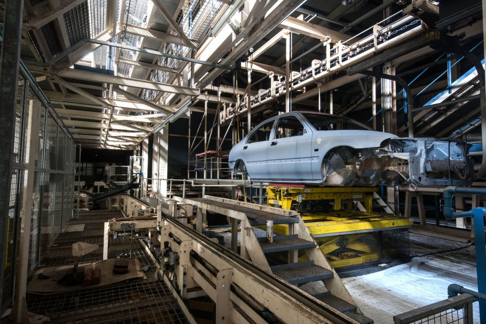 ABANDONED ROVER FACTORY
