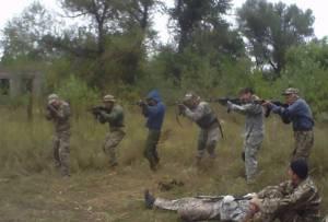 Бойцы 14-й резервной сотни возростают