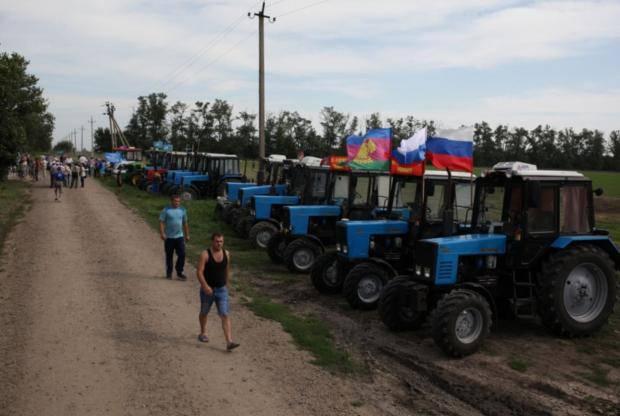 Тракторный марш на Москву: Кубанских фермеров арестовали