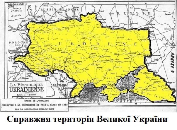 """""""Кубанское вопрос"""": Опубликовано настоящую карту Украины"""