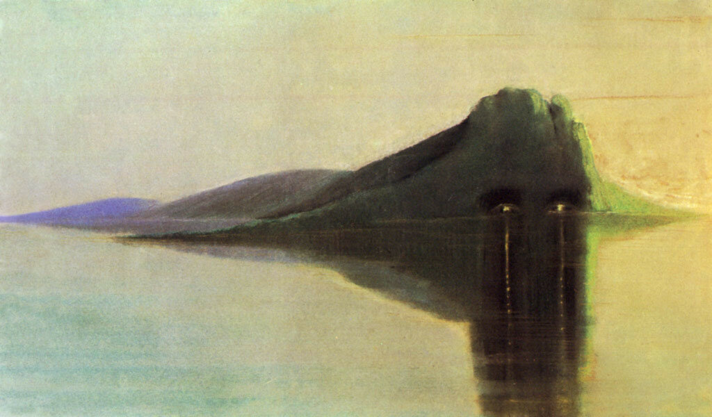 Чюрленис  Микалоюс  Константинас   (1875-1911)Покой - М.-К. Чюрленис, 1904