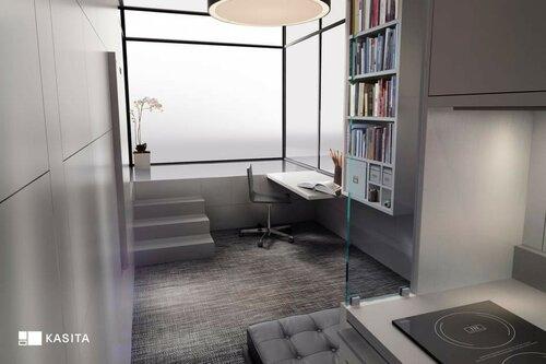 Инновационный модульный дом Kasita в Америке