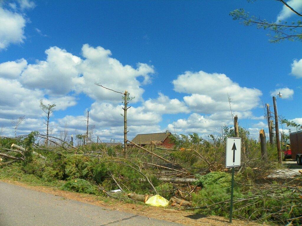 Торнадо в Меррилле.