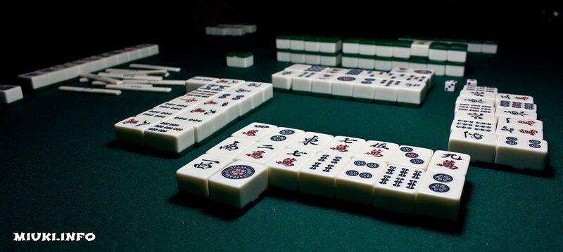 Старинная классическая японская азартная игра маджонг. Игровой этикет на турнирах