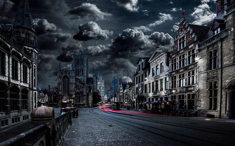 Бельгия, городской пейзаж