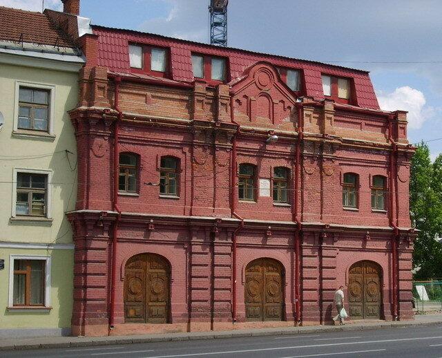 депо Вольно-пожарного общества