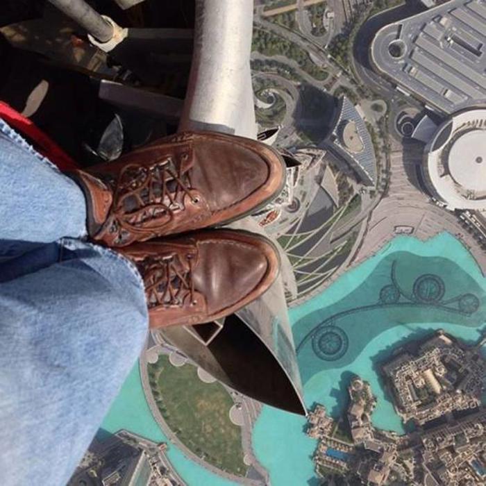 Бурдж Халифа. Фотографии с вершины самого высокого здания в мире