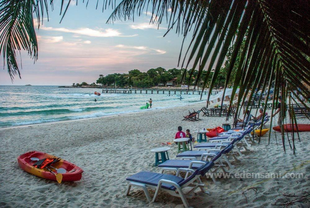 остров Самет пляж Ао Чо