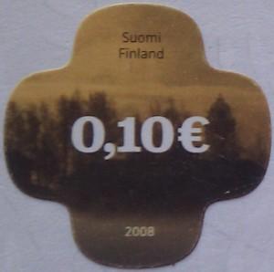 финляндия 2008 лес 0,10