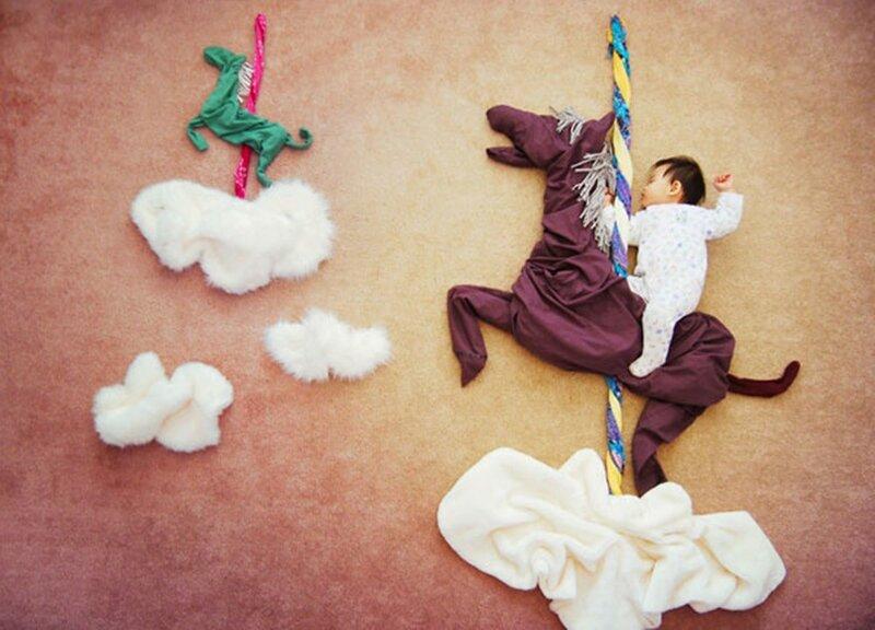 Креативная мама отправляет своего сына в путешествия во сне