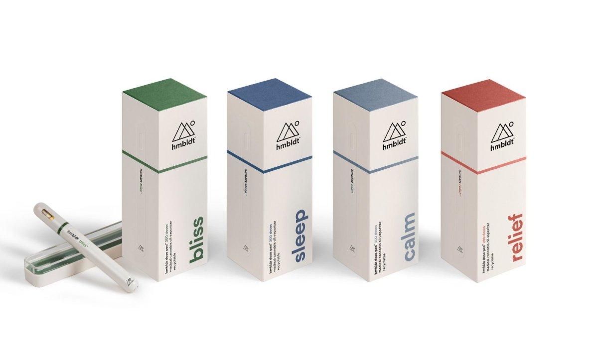 7. Ингаляторы для медицинской марихуаны Hmbldt Vape Pens. Заменяют таблетки от бессонницы или головн