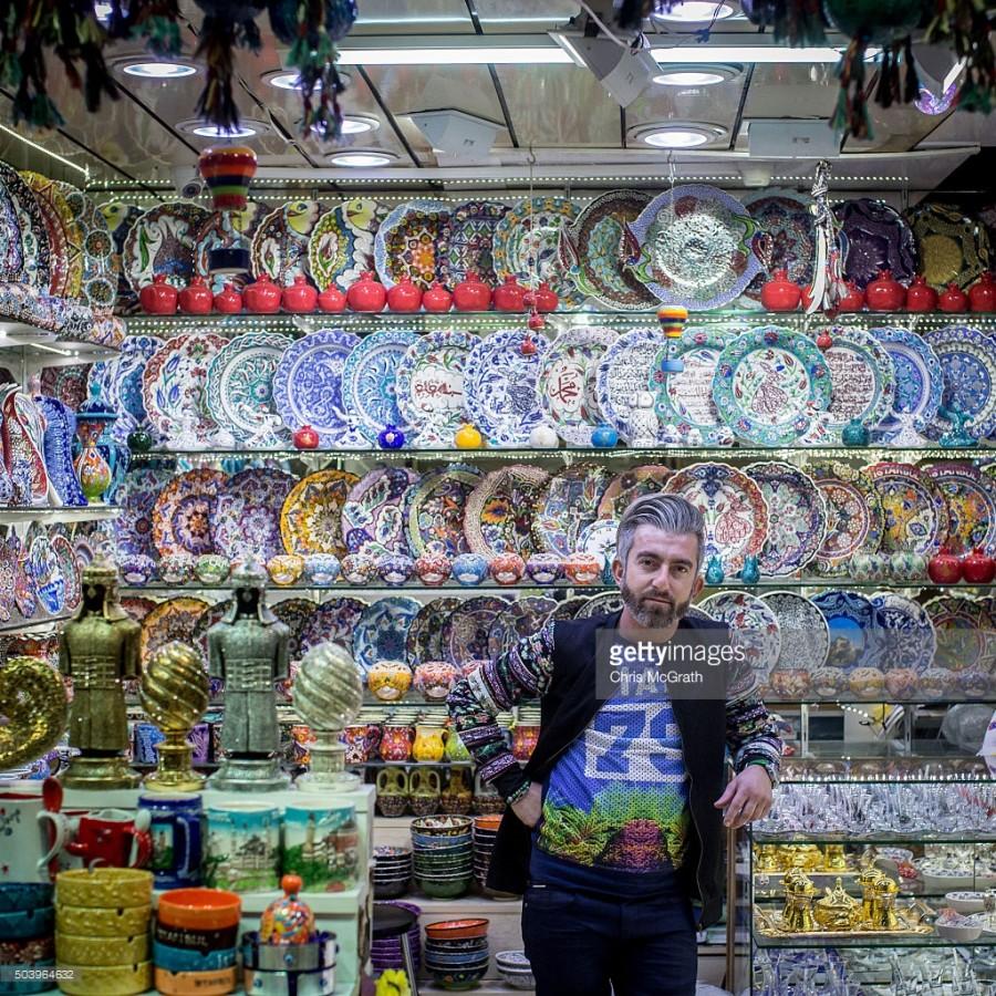 Пьянящий мир стамбульского Гранд Базара (16 фото)