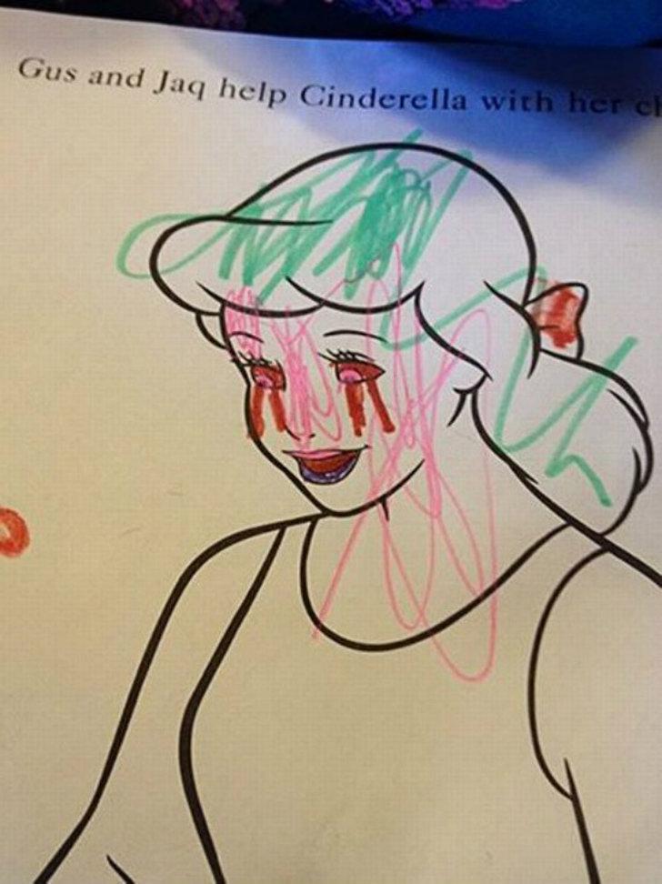 Золушка плачет кровавыми слезами. Как говорится, устами младенца глаголет истина.