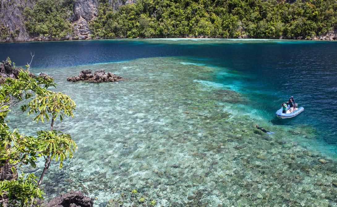 Острова Раджа-Ампат Индонезия Любителям подводных прогулок обязательно стоит посетить малоизвестные