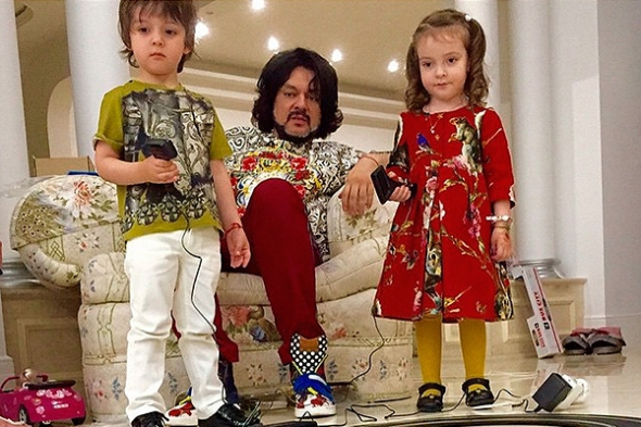 4-летний сын Филиппа Киркорова стал моделью