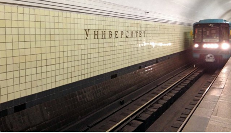 В столице России задержали хулигана, обстрелявшего поезд вметро