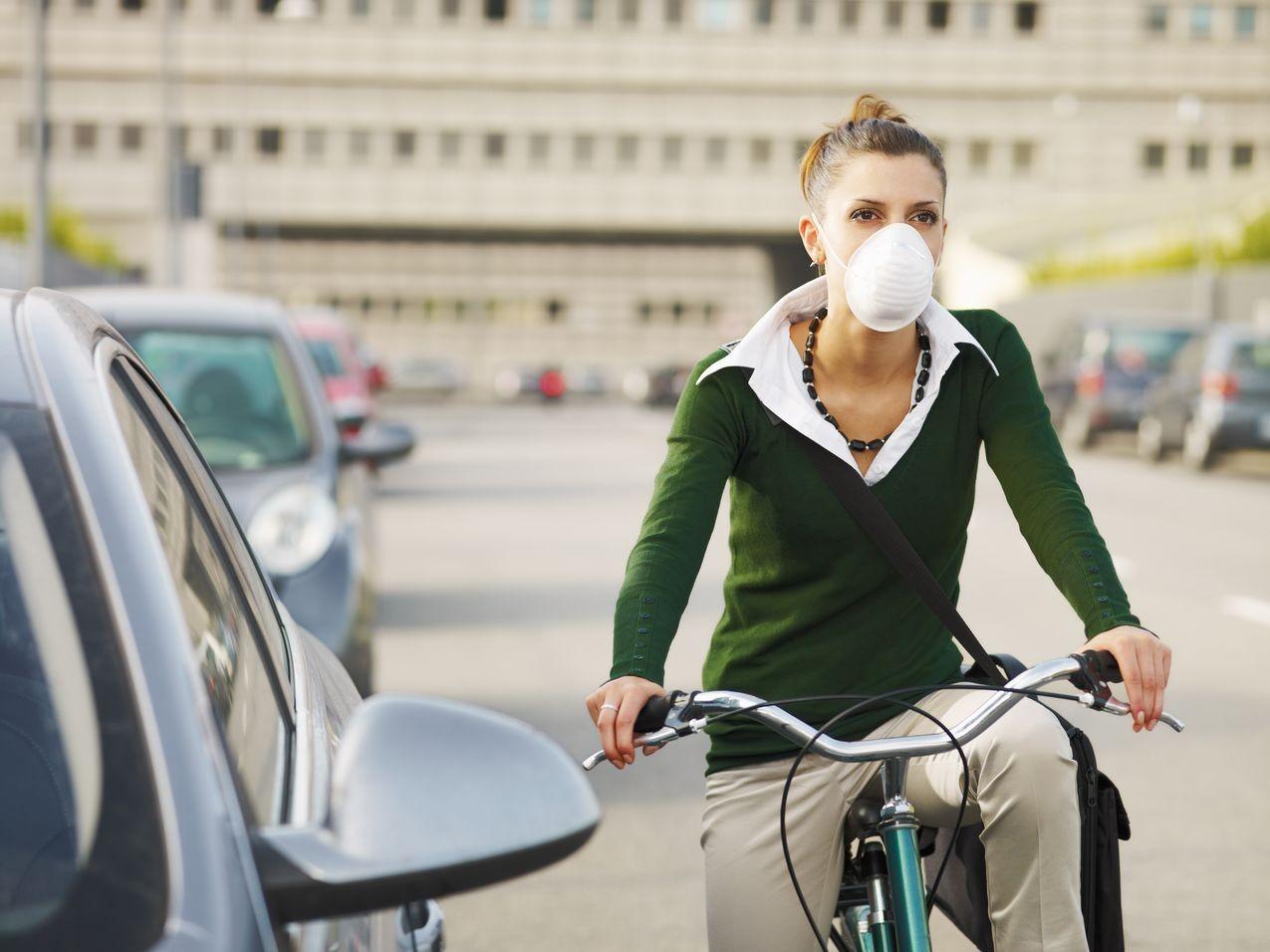 Загрязнение воздуха ухудшает работу кровеносных сосудов влегких