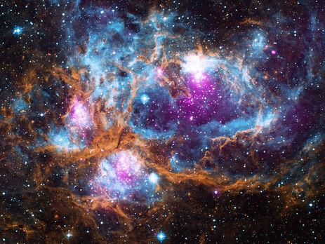 Новый снимок NASA напоминает чудный пейзаж