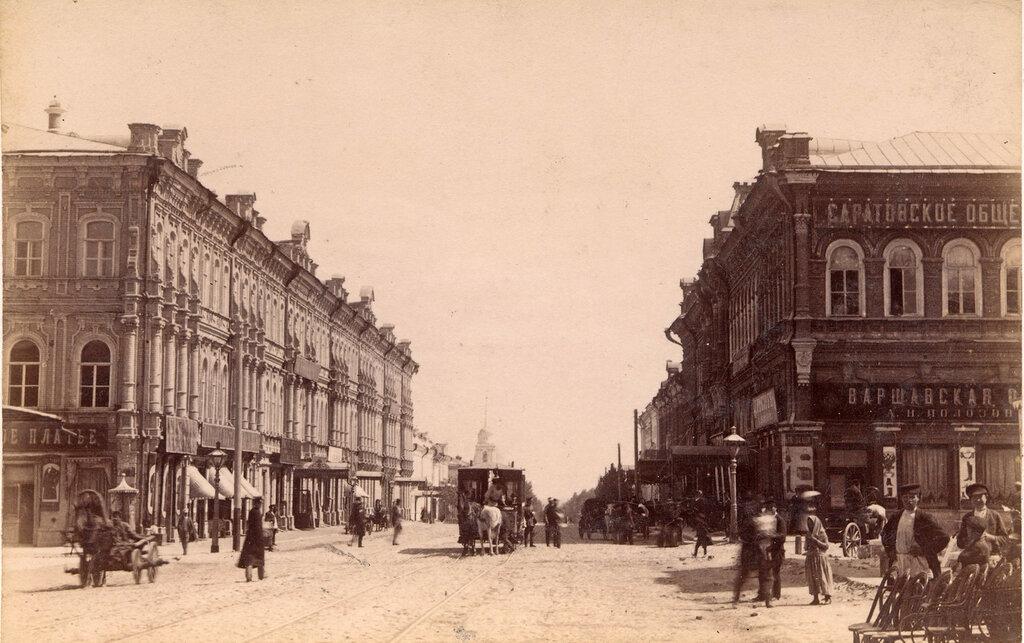 Саратов на старых фото и открытках