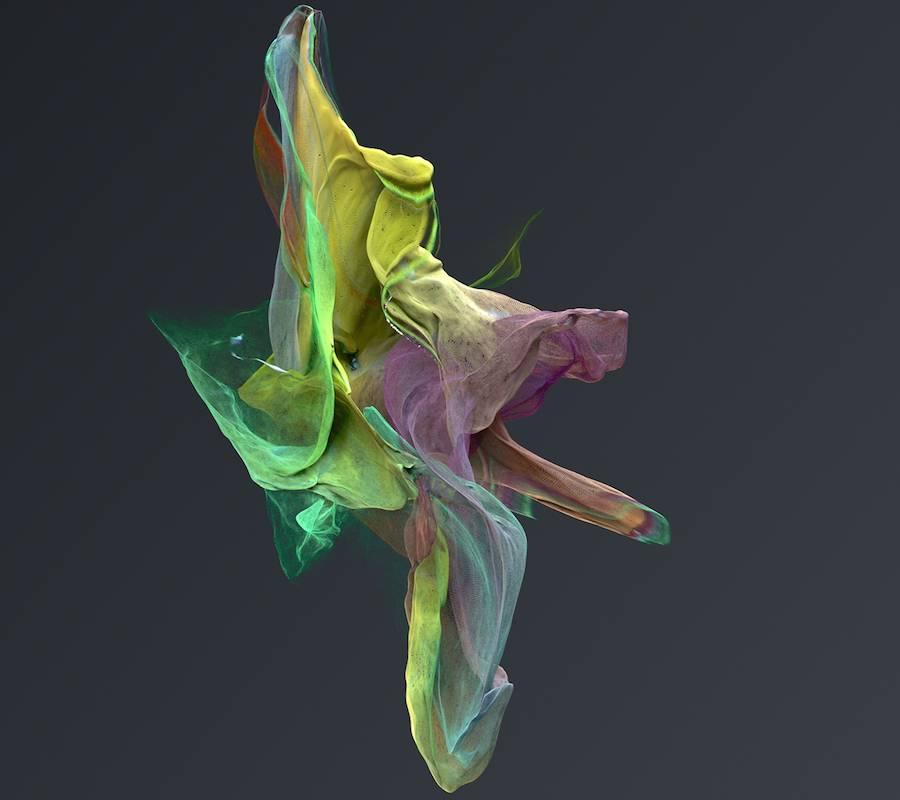 Organic Digital Sculptures by Jon Noorlander