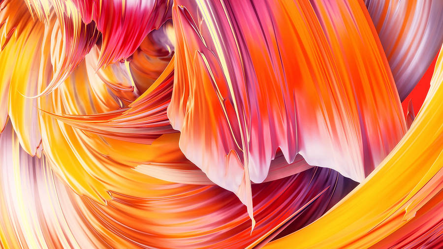 Captivating Digital Paintwaves