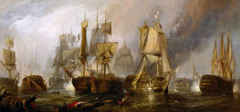 1 Clarkson_Frederick_Stanfield_-_The_Battle_of_Trafalgar,_and_the_Victory_of_Lord_Nelson_over_the_Combined_French_and_Spanish_Fleets,_.jpg