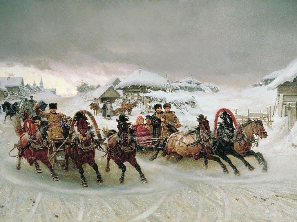 Пётр Грузинский Рождественская ярмарка.jpg