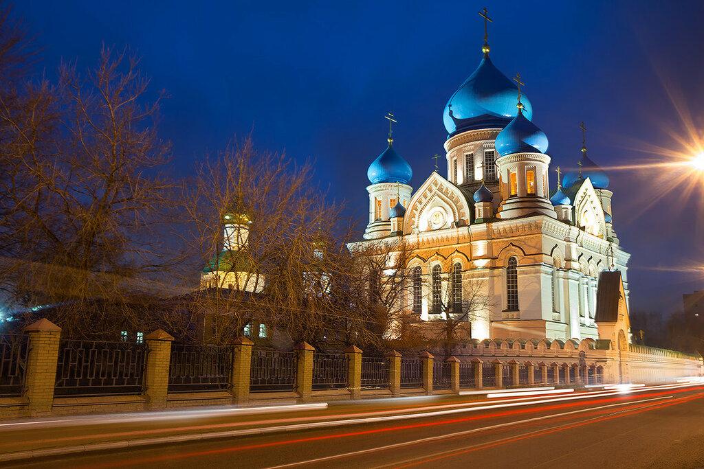 Москва. Иверский собор. Николо-Перервинский монастырь.